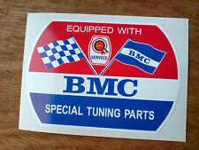 BMC Rosette spécial tuning pièces rétro classique decal sticker 1 off 85mm