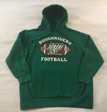 Mens Saskatchewan Roughriders Canadian Football Hoodie Sweatshirt Adult Medium