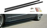 SIDE SKIRTS ADD-ON DIFFUSERS MERCEDES E-CLASS W212 COUPE & CABRIO (2012-2017)