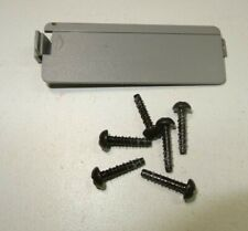 PS1 Sony PlayStation 1 Bottom Screws w/Back Cover SCPH 5501 7501-Good-Clean