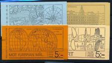 [34451] Sweden Good lot 4 complete booklets Very Fine MNH