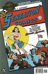 DC MILLENNIUM EDITION: SENSATION COMICS #1 DC COMICS 10/00 NM- 1ST WONDER WOMAN!