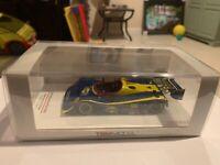 True Scale TSM 1993 Paul Jr Slater Porsche 966 Road America 500K #66 Sunoco 1:43
