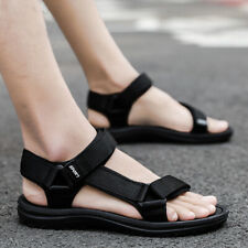 New Mens Summer Beach Sandals Buckle Flats Casual Outdoor Sports Slingback Shoes