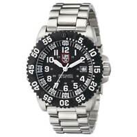 Luminox 3152.NV Men's Colormark 3150 Black Dial SS Bracelet Watch