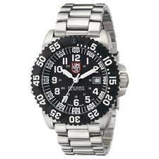 Reloj para Hombre Luminox Colormark 3150 Cuadrante Negro Pulsera De Acero Inoxidable 3152.NV