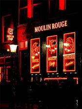 MODERN PHOTOGRAPHY PARIS MOULIN ROUGE STRIPTEASE LARGE POSTER ART PRINT BB3174A