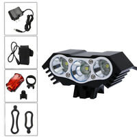 10000LM T6 MTB LED lámpara de bicicleta luz faro ciclismo 4 modos de la antorcha