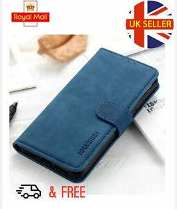 Oppo Find  X 2 Pro Leather Flip Wallet Case Money Card Holder Next Day Deli 🇬🇧