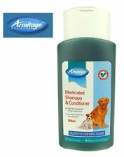 Armitage Pet Care DOG New MEDICATED Shampoo/Conditioner Protection Control Scurf