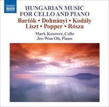 Hungarian Music for Cello and Piano (CD, Jun-2008, Naxos (Distributor)) (cd7760)