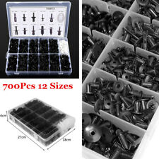 700Pcs Auto Car Body Plastic Push Pin Rivet Fasteners Trim Panel Moulding Clip