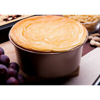 "Deep 8"" Inch Round Shape Cake Tins Pan Baking Tray with Loose Base"