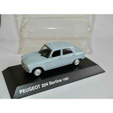 Peugeot 204 sedan 1965 grey norev 1:43 blister