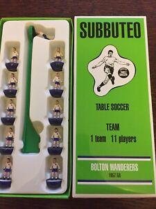 Subbuteo Legends / Leggenda Vintage Team - Bolton Wanderers 1957/58