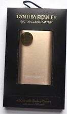 BRAND NEW GENUINE SEALED Cynthia Rowley Rechargeable Battery 4,400mAh ROSEGOLD