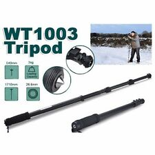 "Lightweight 67"" Pro Camera Tripod Monopod WT-1003 4-Sections Leg with Case"
