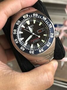 SEIKO 5 sports 40th Anniversary 2003 Limited Edition SKZ201K diver watch USED