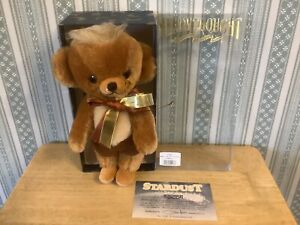 Merrythought Boxed Bear Ancestor Of Cheeky Stardust With Real Silver Eyes L/E