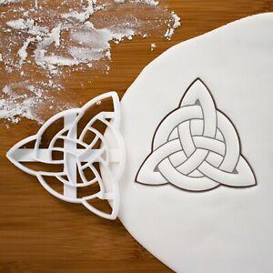 Triquetra Celtic Knot cookie cutter Celts Gaelic insular art Icovellavna knots