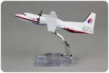 Malaysia F-50 9M-MGC Passenger Airplane Plane Aircraft Metal Diecast Model