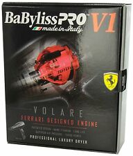 BABFV1 BABYLISS PRO VOLARE V1 FULL-SIZE DRYER FERRARI-DESIGNED ENGINE BLACK