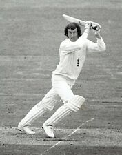1973 Vintage Photo cricketer Graham Roope in test match vs Hadlee of New Zealand