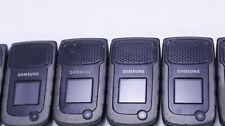 LOT OF 25 FAIR UNLOCKED SAMSUNG RUGBY 2 SGH-A847M/D RUGGED FLIP PHONE CLEAN IMEI
