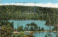 Postcard Rainy Lake, International Falls, MN