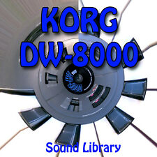 KORG DW-8000 HUGE Original Factory & New Created Sound Library & Editors on CD