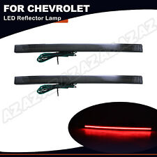 For Chevrolet Corvette C7 2014-19 Rear Diffuser Reflector LED Light Signal Smoke