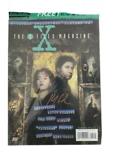 The X-files Magazine #2 Signed With COA