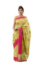 Indian Women's Silk Sari Traditional Cultural Saree Decor Fashion Wrap Dresses