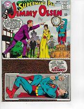 DC SUPERMAN'S PAL JIMMY OLSEN #112 SILVER AGE COMIC