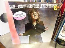Suzi Quatro Four Letter Words vinyl LP 1979 RSO Records sealed