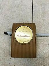 Vintage Little Tiger VHF Converter by Electra. Vintage Electronic Item.