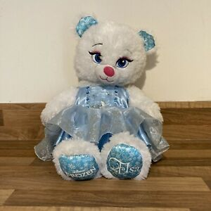 Build A Bear Elsa Frozen With Dress Plush Soft Toy