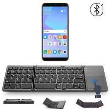 Handy Bluetooth Tastatur für LG Q6 Dual-SIM / keyboard / Touchpad FKT