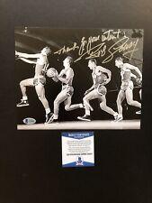 Bob Cousy autographed signed 8x10 photo Beckett BAS COA Boston Celtics NBA HOF