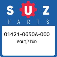 01421-0650A-000 Suzuki Bolt,stud 014210650A000, New Genuine OEM Part