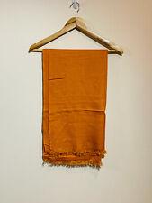 Brioni Mens Scarf, 100% Pure Cashmere, Orange, From Harrods RRP £350