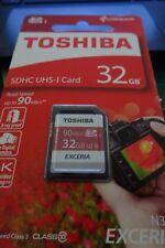 Toshiba Exceria Pro N302 SDHC 32GB UHS-I U3 Speicherkarte bis zu 90MB/Sek.