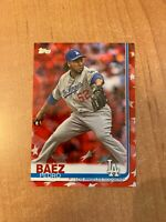 2019 Topps Series 2 - Pedro Baez - #433 Independence Day Parallel #d 05/76