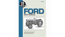 I&T Shop Manual for Ford Naa Jubilee Tractors