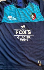 Leicester Tigers Jack Van Poortvliet Large T-shirt