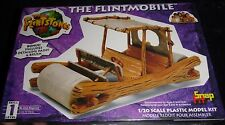 The Flintstones Flintmobile Lindberg Snap-Fit 1/20 Model Car Mountain FS