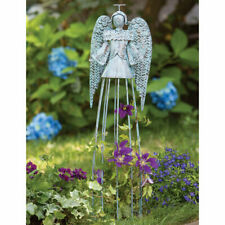 Hammered Metal With A Soft Aqua Patina Finish Tranquil Angel Garden Trellis