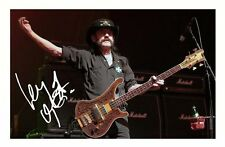 LEMMY AUTOGRAPHED SIGNED A4 PP POSTER PHOTO 1