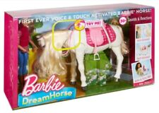 Interactive BARBIE DREAM HORSE VOICE & TOUCH ACTIVATED