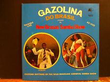 GAZOLINA DO BRASIL New Brasas Samba Show  LP  Bossa Beats Funky  Lovely copy